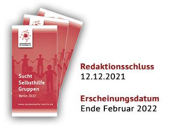 Broschüre - Sucht-Selbsthilfe-Gruppen in Berlin